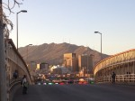 A view of downtown El Paso from the Paseo del Norte International Bridge. (Sergio Chapa/Borderzine.com)