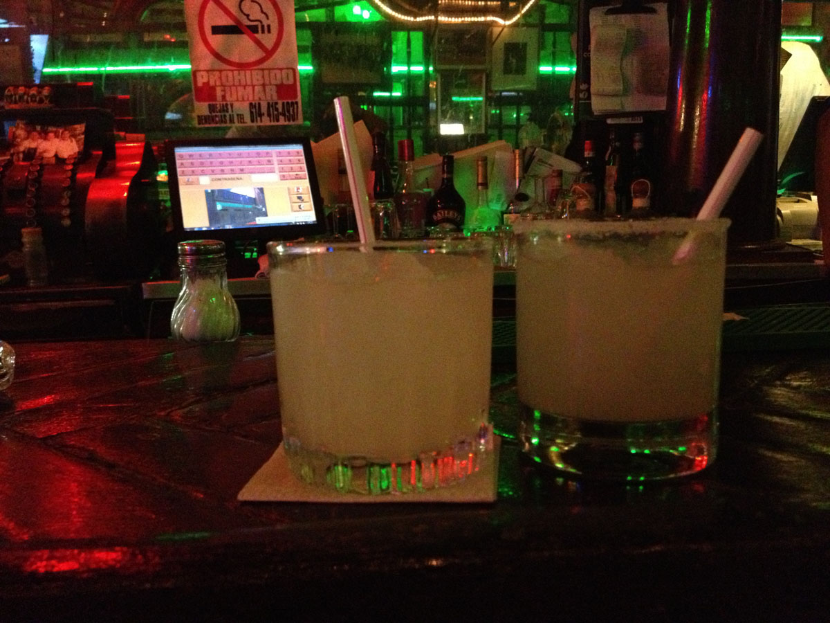 Fun Fact: The margarita was invented at the Kentucky Club in Ciudad Juarez. (Sergio Chapa/Borderzine.com)