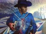 Mural at the Stanton Street Bridge in downtown El Paso. (Sergio Chapa/Borderzine.com)