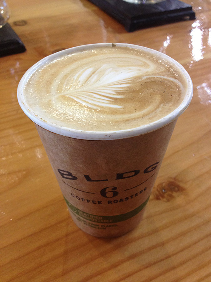 BLDG 6 Coffee Roaster is located at 11385 James Watt B-6 on the east side of El Paso. (Photo courtesy of Paulina Salazar)