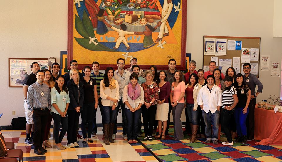 Participants of the 2013 McCormick Immigration Reporting institute. (©Borderzine.com)