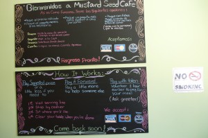 Mustard Seed Café how it works