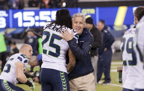 Richard_Sherman_and_Pete_Carroll_Seattle Seahawks