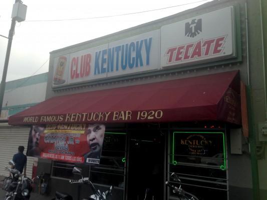 Club Kentucky front door