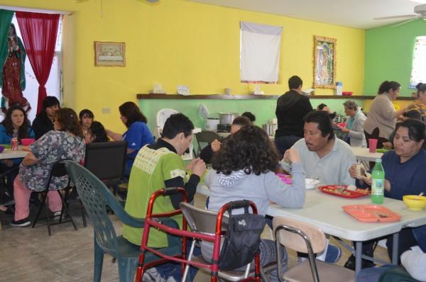 Comedor proyecto Santo Niño