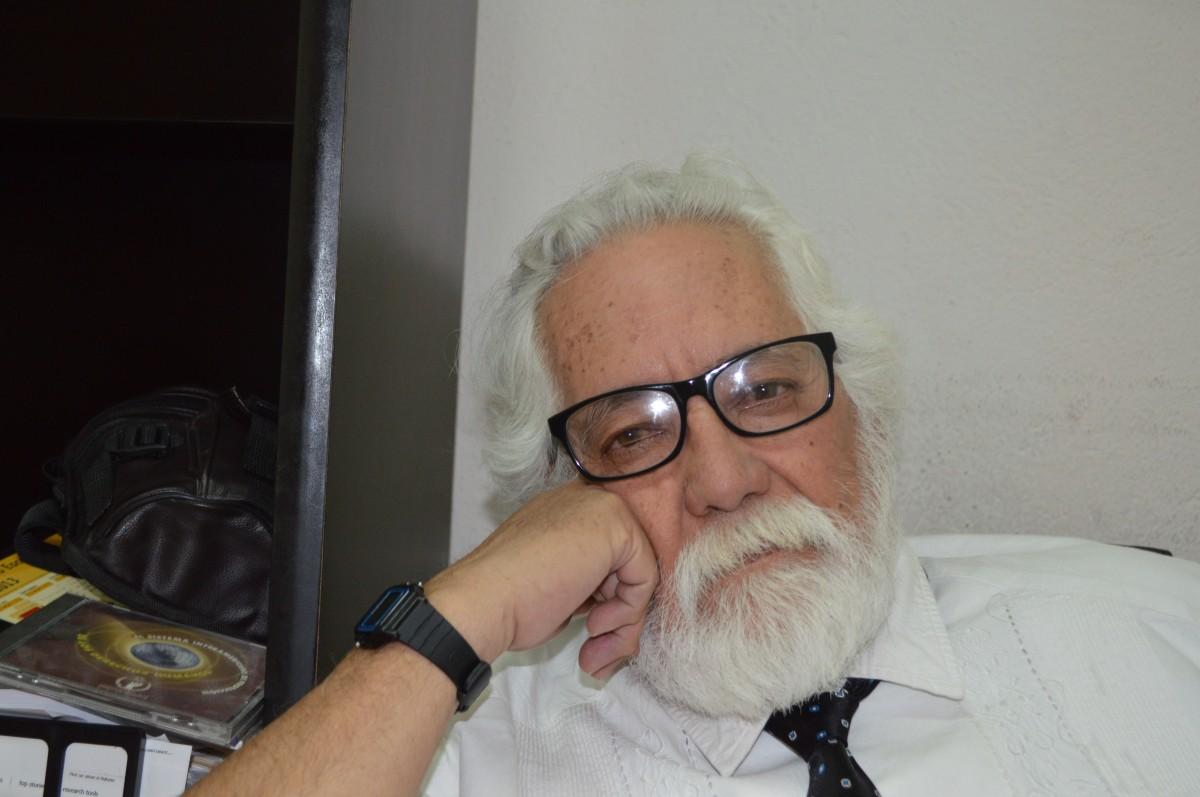 Abogado Gustavo de la Rosa Hickerson, Visitador de la Comisión Estatal de los Derechos Humanos. Photo credit: Gloria Aime Ramirez