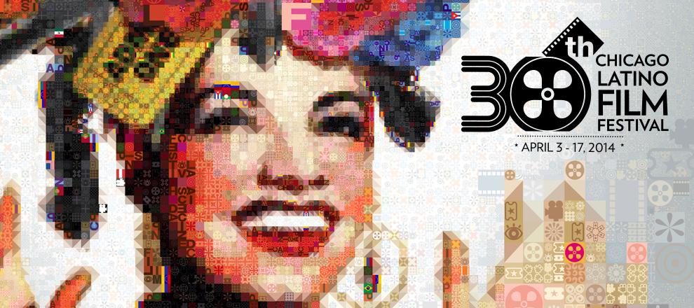 Poster promocional de la 30.a edición del Festival de Cine Latino de Chicago.