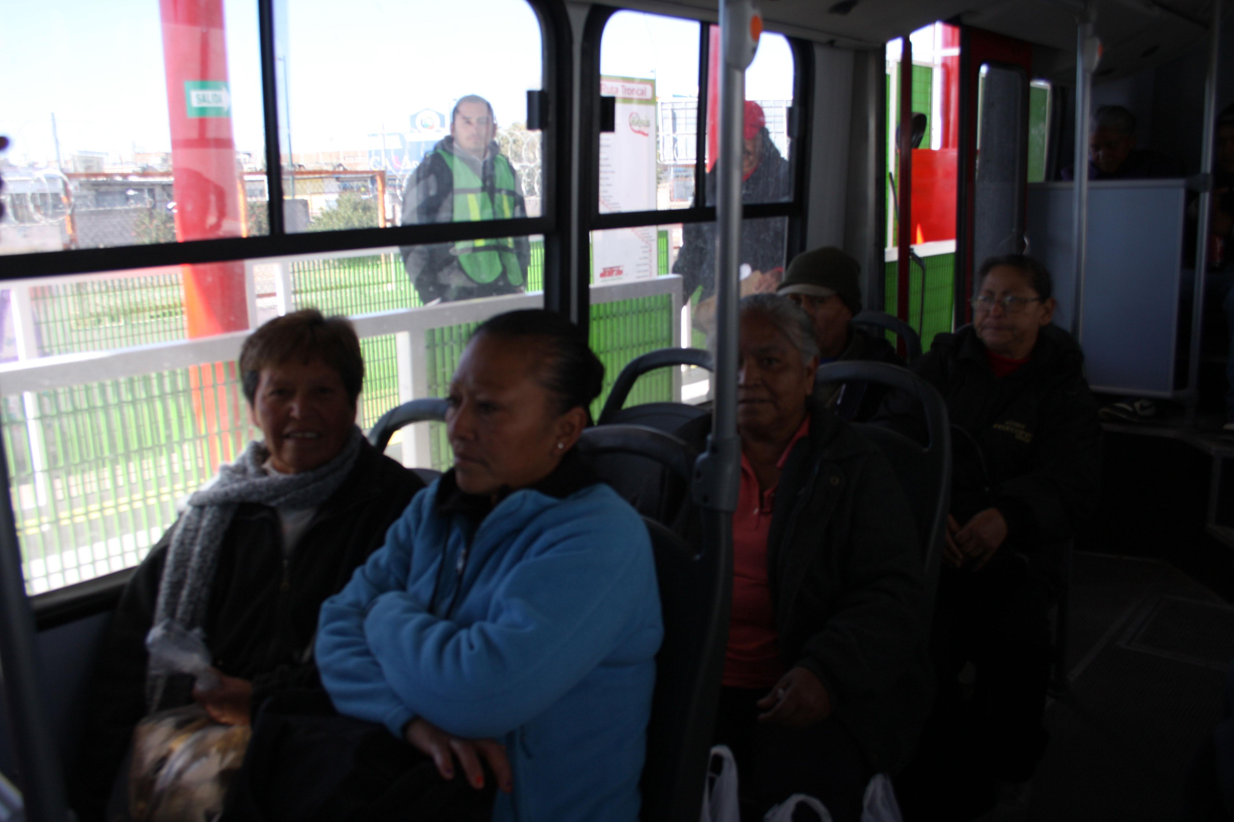 El nuevo sistema de transporte urbano Vive Bus garantizará un mejor servicio a los usuarios. (Jazmín Cano/Borderzine.com)