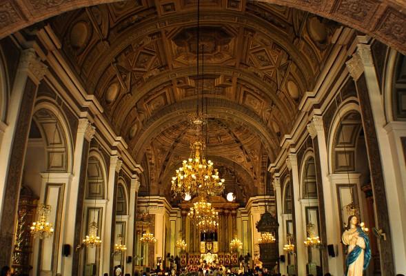 El legado del catolicismo es profundo en Filipinas. (Photo credit: Joeydvm)