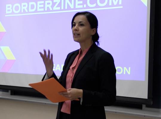 Professor Denisse Olivas