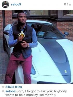 Samuel Eto'o Baits Racists