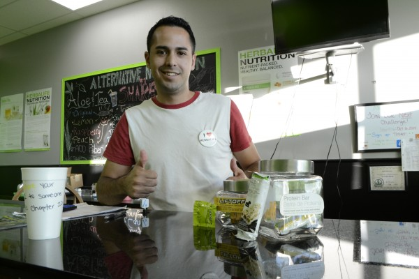 Al Trujillo's fascination with Herbalife led him to open his Alternative Nutrition club, in Socorro, Texas.