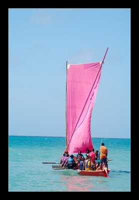 Sailing class for local high school students in Martinique.  Photo courtesy Rudy Glili, RRPG Photography.