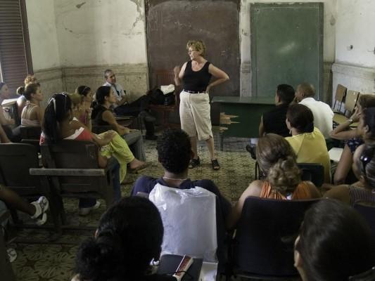 Zita Arocha in Cuba