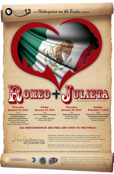 Romeo and Julieta poster
