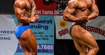 Jose Sifuentes, right, competes in the Sun City Regional Aug. 2014. Photo courtesy Jose Sifuentes.