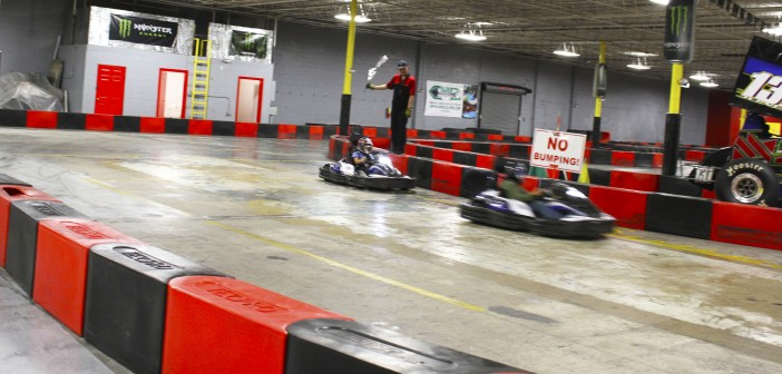 El Paso's first indoor racing experience, Zero to 60 Motor Speedway. Photo credit: Michael Mcclure