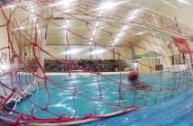 Juarez water polo. Photo by Genaro Cruz Martinez, Borderzine.com