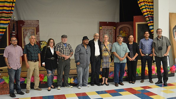 Chicano Heritage Month exhibit: Visual Stills Along La Frontera