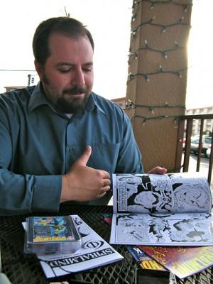 Phi3 Comics co-creator Matthew Rothblatt