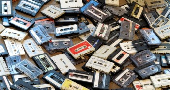 Cassette tapes were the hype back in the 80's for creating mix tapes of favorite music. Photo credit: Robert Smith