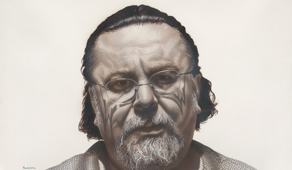 """John"" from De Puro Corazon series by Gaspar Enriquez. Photo courtesy of the Smithsonian's National Portrait Gallery"