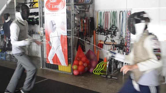 Borderland fencing studio preps athletes for sharp competition