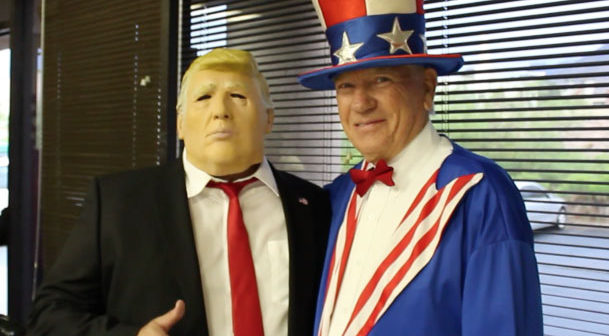 Donald Trump and Uncle Sam