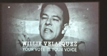 Willie Velasquez: Your Vote Is Your Voice will air throughout the election season (check local listings). Photo credit: Esmeralda Treviño