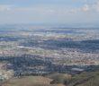 A view of the El Paso/Juarez metropolitan area. Photo by Nora Rausch / Borderzine.com