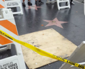 Donald Trump's Hollywood star can't get a rest when it comes to vandalism
