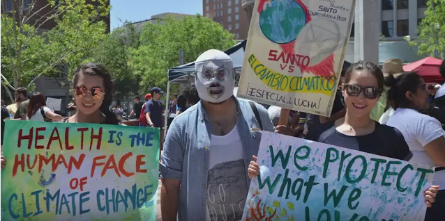 Video – March for Science in El Paso, Earth Day 2017