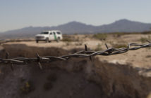 Border Patrol Barbed Wire crop