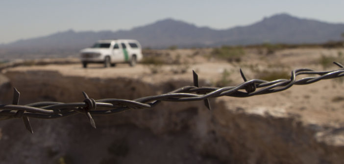 Border Patrol ride along gets real when migrant family appears