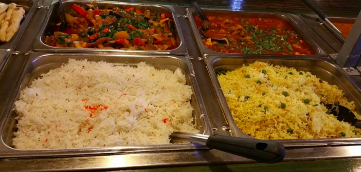 India Palace's lunch buffet (Image credit: India Palace website)