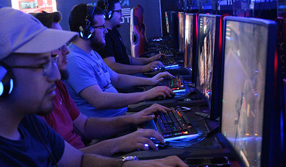 Caffeine fueled high-tech gaming center opens in East El Paso