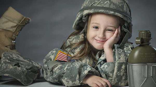 Children find home on the road as they follow parents in military moves