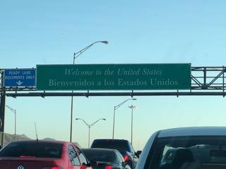 Border Sign-El Paso