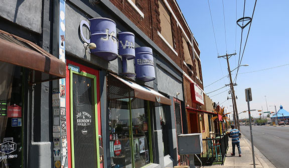 Central El Paso's Manhattan Heights and Five Points neighborhood revitalization fuels new vibe