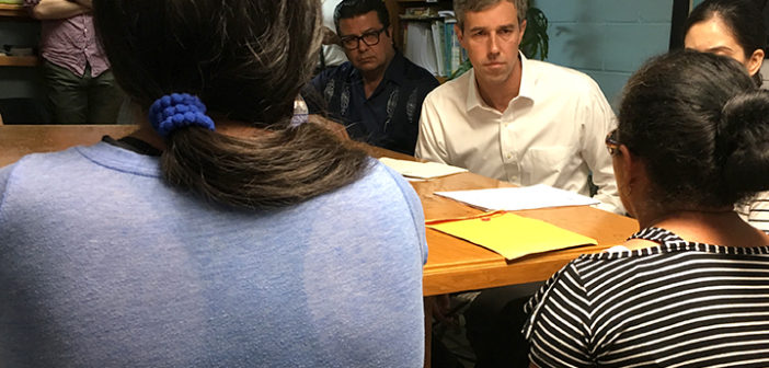 Beto O'Rourke takes campaign into Mexico to spotlight 'cruelty' of Trump immigration policies