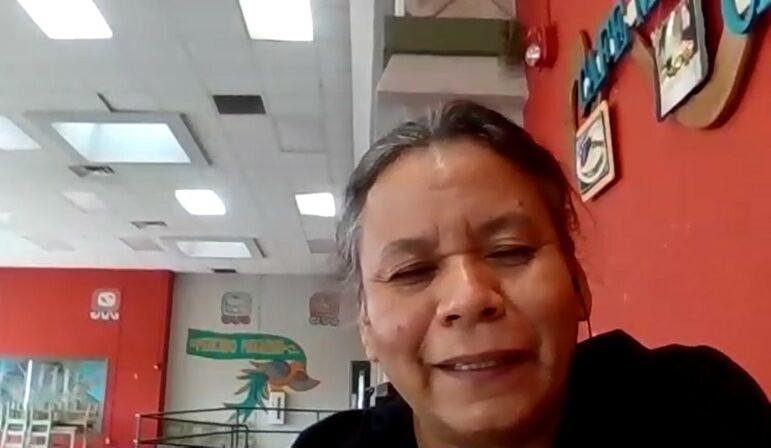 Ana Gomez, Café Mayapán's director.