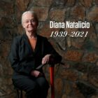 Portrait of late UTEP President Diana Natalicio with dates 1939-2021