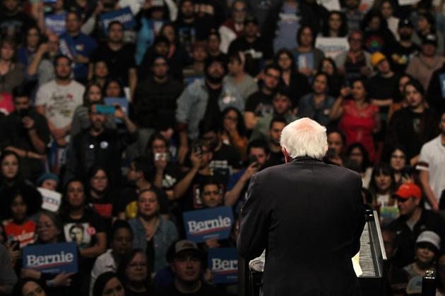 Bernie rally 15-8