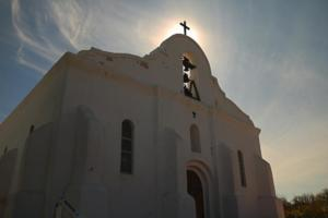 Socorro Mission in Socorro, Texas/Photo by Aaron Martinez